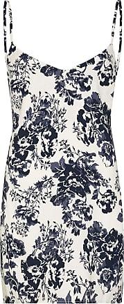 Reformation Slip dress floral Dempsey - Azul
