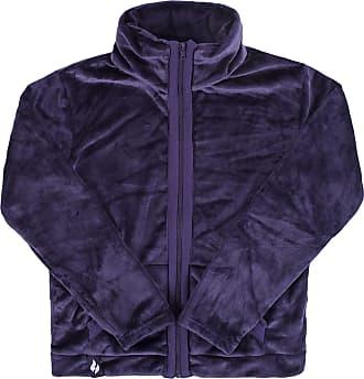 Heat Holders Heat Holders Ladies SockShop Snugover Fleece Jumper In Purple Small/Medium Purple
