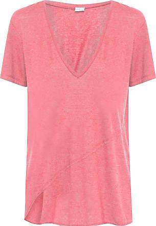 Colcci Fitness Camiseta Decote - Vermelho