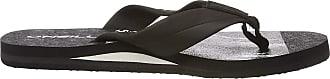 O'Neill Mens Fm Imprint Pattern Sandals Shoes & Bags, (Black AOP 9900), 10 UK