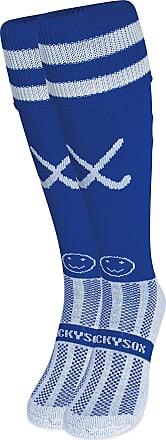 Wackysox Hockey Addict Blue Hockey Socks