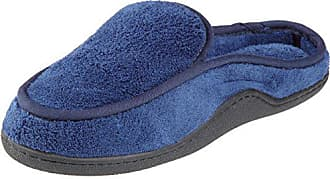 a240eb4eb5411f Isotoner Mens Terry Slip On Clog Slipper with Memory Foam for  Indoor Outdoor Comfort