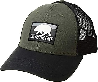 7780a009 The North Face Patches Trucker Hat (New Taupe Green/TNF Black/Asphalt Grey