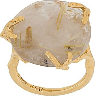 Wouters & Hendrix rutilated quartz ring - GOLD