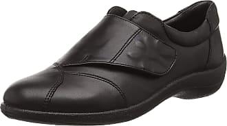 Padders Womens Rose Loafers, Black (10 Black), 4.5 UK 37 1/2 EU
