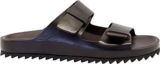 Officine Creative Fashion Man AGORA002MORO Brown Leather Sandals | Spring Summer 20