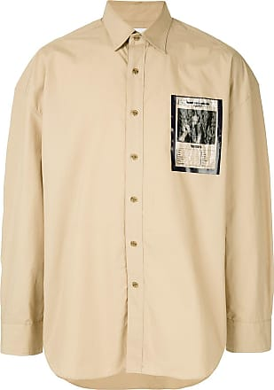 Yoshiokubo wanted pocket shirt - Brown