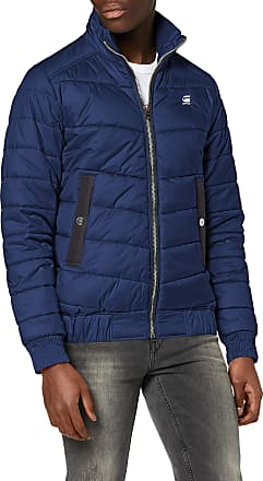 G-Star Mens Meefic Quilted Overshirt Jacket, Blue (Imperial Blue B958-1305), S
