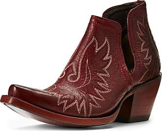 ae83fa4c3e Ariat Womens Dixon Western Boots in Sangria Leather, B Medium Width, Size  37.5,