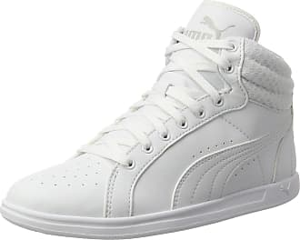 28a0a0a08870 Puma Womens Ikaz Mid v2 Low-Top Sneakers, White, 6.5 UK