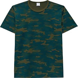 Malwee Camiseta Manga Curta Camuflada- Malwee verde