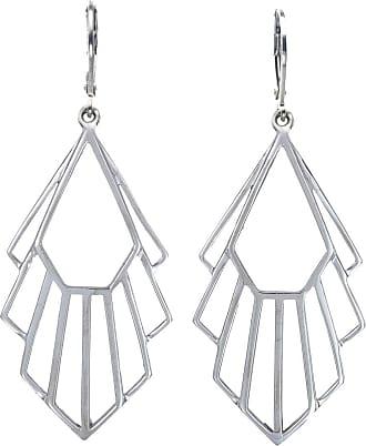 Zoe & Morgan Silberne Flossie-Ohrringe - One Size - Silver