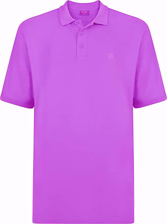 Espionage Premium Cotton Pique Polo Shirt (074) in Lilac in 7XL
