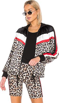 Pam   Gela Colorblock Stand Collar Jacket in Brown 32250e366de00
