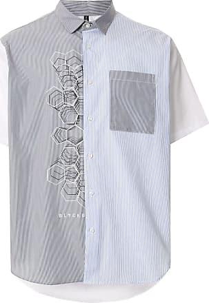 Blackbarrett Camisa com recortes - Branco