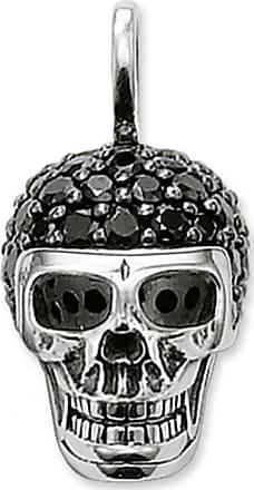 Thomas Sabo Femmes-Charm-Pendentif Mexicaine T/ête de Mort Charm Club Argent Sterling 925 1436-007-21