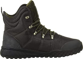 Columbia Mens Fairbanks Omni-Heat Winter Boot, Black (Shark, Peatmoss), 10.5 UK 44.5 EU