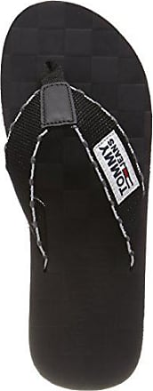 Tongs Homme Tommy Jeans Tj Leather Footbed Beach Sandal