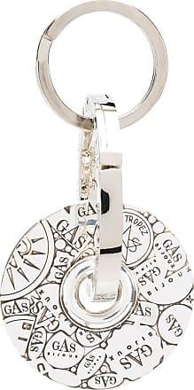 Gas Bijoux Chaveiro Bozart com medalhão - Prateado