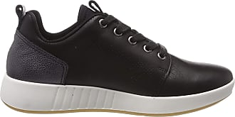 Legero Womens Essence Low-Top Sneakers, (Schwarz (Black) 01), 5 UK