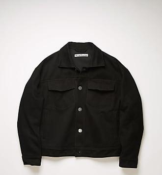 Acne Studios FN-MN-OUTW000517 Black Cotton twill jacket