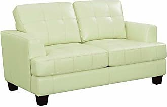Coaster Fine Furniture 501699 Living Room Sofa Love Seat Sleeper, Cream/Dark Brown