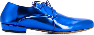 Marsèll Sapato derby metalizado - Azul