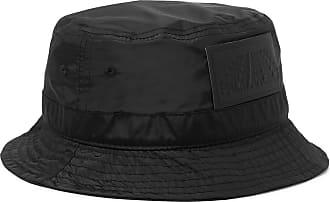 Palm Angels Logo-appliquéd Shell Bucket Hat - Black