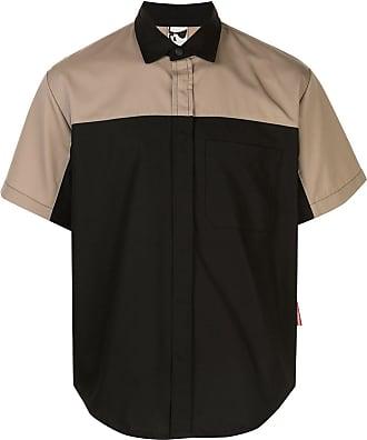 GR10K Camisa bicolor - Preto