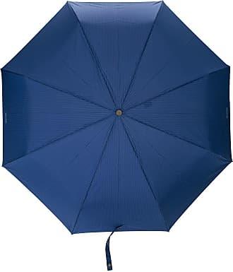 Moschino Ombrello con design gessato - Di colore blu