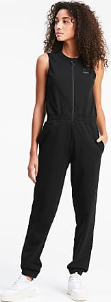 Puma Sleeveless Womens Jumpsuit, Black, size 2X Small, Clothing