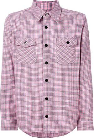 Visvim Camisa xadrez - Rosa