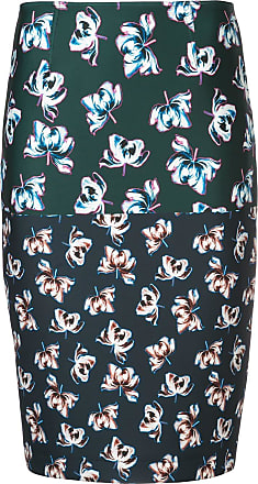 Yigal AzrouËl floral printed pencil skirt - Multicolour