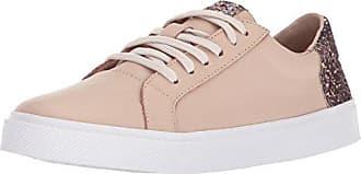 e58373e11307 Kaanas Womens San Rafael Contrast Heel Lace-Up Leather Casual Fashion  Sneaker
