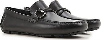 Salvatore Ferragamo Loafers for Men On Sale, Black, Leather, 2017, 9.5