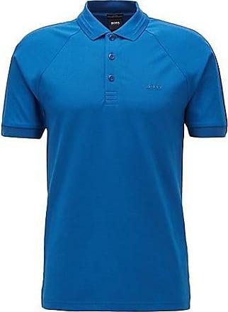 BOSS Poloshirt aus Stretch-Piqué mit S.Café-Fasern