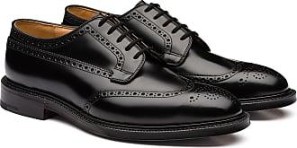 Churchs Polished Binder Derby Brogue Man Black Size 11,5