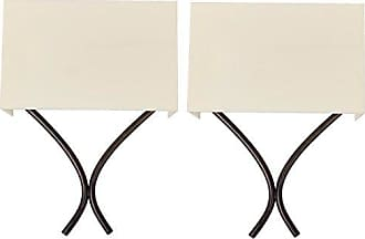 Van Teal Plaza Pair of Wall Sconces, Ivory