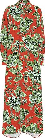 Ami Floral shirt dress