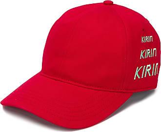 Kirin Boné com logo bordado - Vermelho