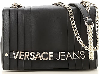 423ac96288e Versace Shoulder Bag for Women On Sale, Black, Nappa Leather, 2017, one