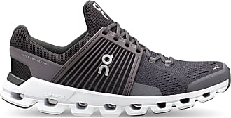 On Mens Cloudswift Road Running Shoes, Shark/Shadow (Numeric_8_Point_5)