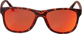 Nautica Óculos Nautica N3608Sp 245 Tartaruga Lente Polarizada Vermelho Marrom Flash Tam 55
