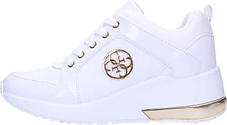 Guess Women Women Sports Shoes ELE12 Sneaker JARYDS4 White 5.5 UK