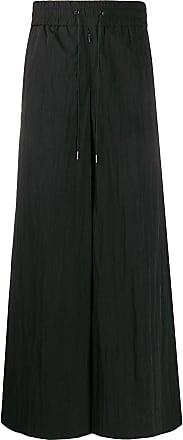 Fumito Ganryu Calça pantalona - Preto
