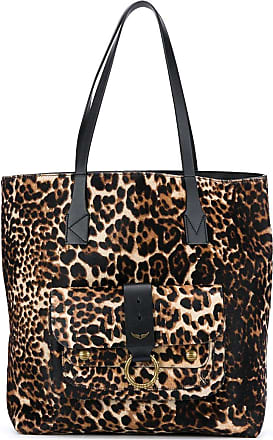 Zadig & Voltaire Borsa shopper con stampa - Color marrone