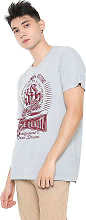 Von Dutch Camiseta Von Dutch Supreme Quality Cinza