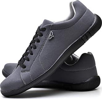Juilli Sapatênis Sapato Casual Com Cadarço Masculino JUILLI 920DB Tamanho:40;cor:Cinza;gênero:Masculino