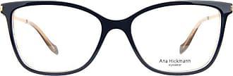 Ana Hickmann Óculos de Grau Ana Hickmann Ah6343 H01/54 Azul/dourado