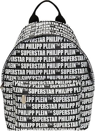 Philipp Plein Patterned Backpack Mens Black